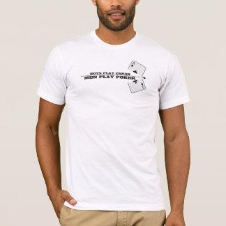 T-shirt poker men