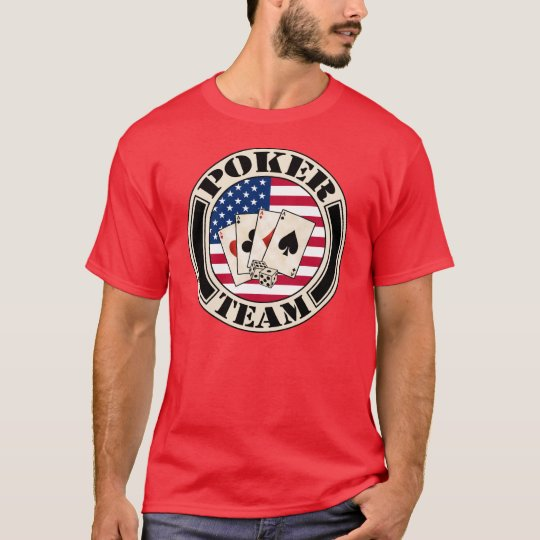 T-shirt poker team
