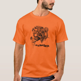 T-shirt Pollution-gasmask, DUBSTEP