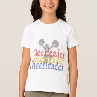 T-shirt Pom-pom girl Cheerleading d'acclamation