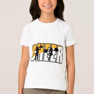 T-shirt Pom-pom girl encourageant l'acclamation