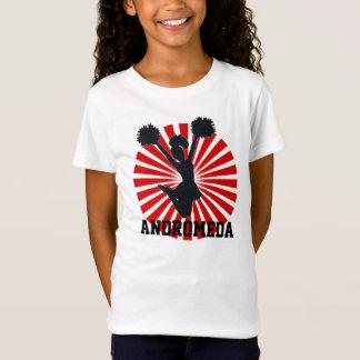 T-Shirt Pom-pom girl personnalisé dans le rayon de soleil
