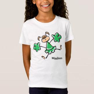 T-Shirt Pom-pom girl vert de Kelly