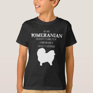 T-shirt Pomeranian