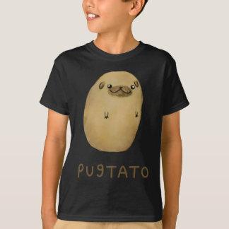 T-shirt Pomme de terre de carlin de Pugtato