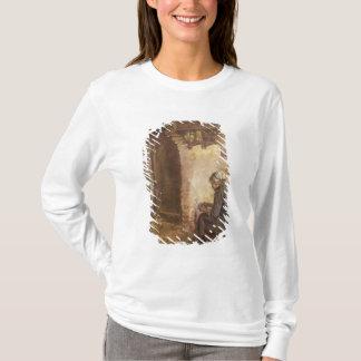 T-shirt Pommes de terre d'épluchage de dame âgée