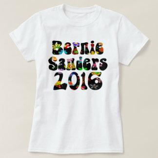 T-shirt Ponceuses 2016 de flower power Bernie