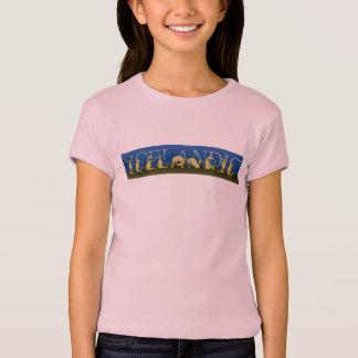 T-shirt Poney islandais écrit dans les poneys