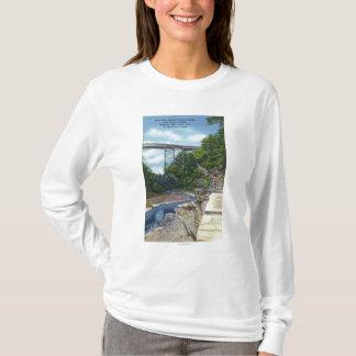 T-shirt Pont central de NY rr, l'échelle de Jacob
