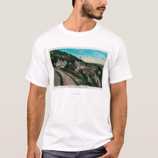 T-shirt Pont circulaire célèbre, Mt. LoweMt. Lowe, CA