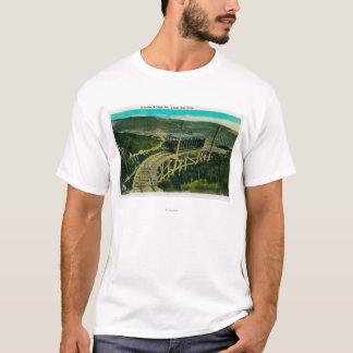 T-shirt Pont circulaire, Mt. LoweMt. Lowe, CA