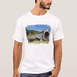 T-shirt Pont couvert de rivière irlandaise, St Martins,