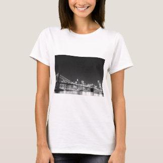 T-shirt Pont de Brooklyn et horizon de Manhattan