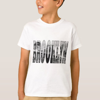T-shirt Pont de Brooklyn et horizon de Manhattan la nuit
