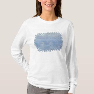 T-shirt Pont de Claude Monet | Waterloo : Effet de la