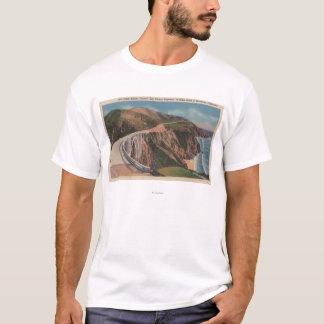T-shirt Pont de crique de moulin sur San Simeon Hwy près