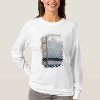 T-shirt Pont de Mackinac, Michigan, Etats-Unis