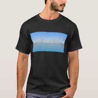 T-shirt Pont de Skyway de soleil : Tampa Bay :