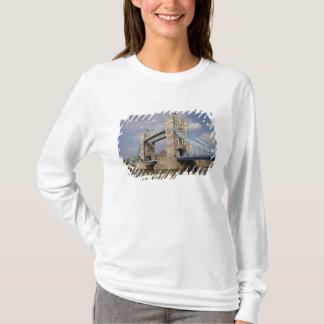 T-shirt Pont de tour et Tamise, Londres,