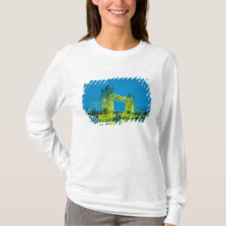 T-shirt Pont de tour, Londres, Angleterre 3