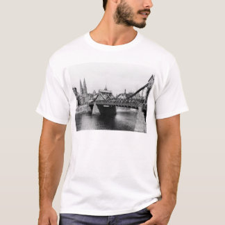 T-shirt Pont de Weser, Brême, c.1910
