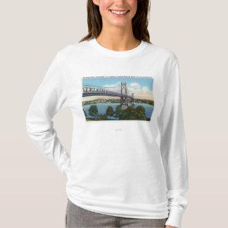 T-shirt Pont du Mi-Hudson à historique national de