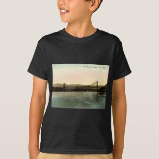 T-shirt Pont en montagne d'ours, cru 1927 du fleuve Hudson