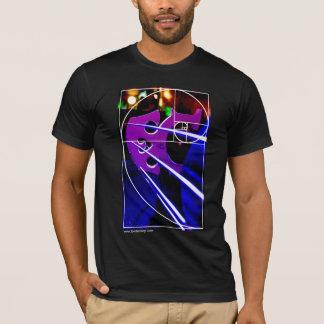 T-shirt Pont en violoncelle avec la spirale de Fibonacci