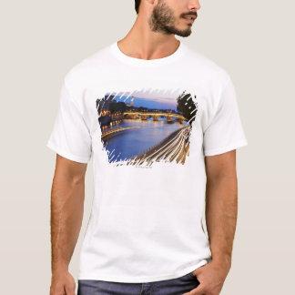 """T-shirt """"Pont pont et Eiffel de Louis Philippe"""""""