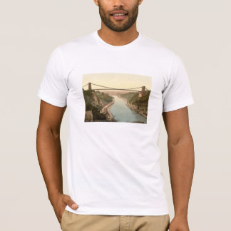 T-shirt Pont suspendu II, Bristol, Angleterre de Clifton