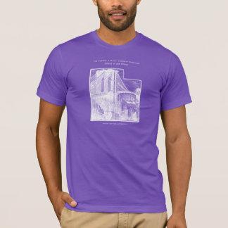 T-shirt Pont vintage New York City de Williamsburg