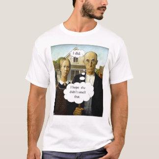 T-shirt Poot gothique américain