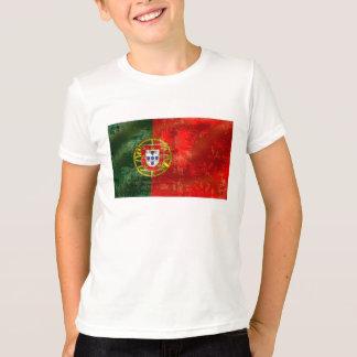 T-shirt Por vintage Fás De Portugal de Bandeira Portuguesa