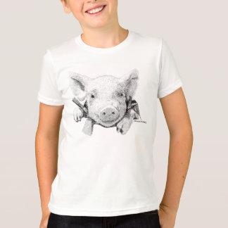 T-shirt Porc de bébé