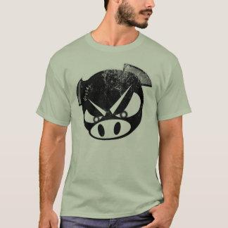 T-shirt Porc principal de bousculade