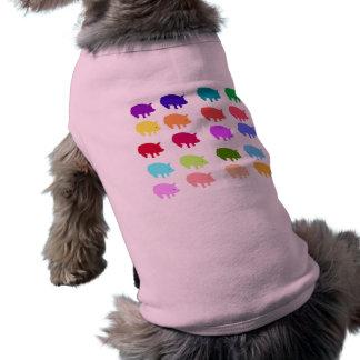 T-shirt Porcs d'arc-en-ciel