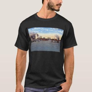 T-shirt Port, cru de Detroit, Michigan c1915