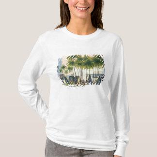 T-shirt Port de Hanarourou dans les îles de sandwich