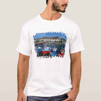 T-shirt Port de pêche, Puerto de Mogan, mamie Canaria,