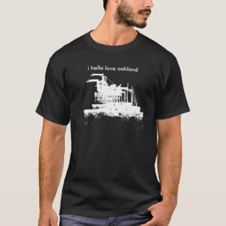 T-shirt Port des points de repère d'Oakland