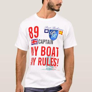 T-shirt Port Richman mon bateau mes règles Grande-Bretagne