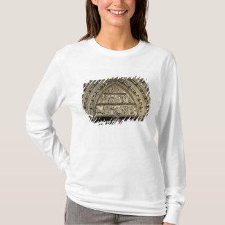 T-shirt Portail du nord de transept, détail de tympan