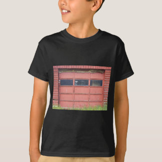 T-shirt Porte rouge de garage