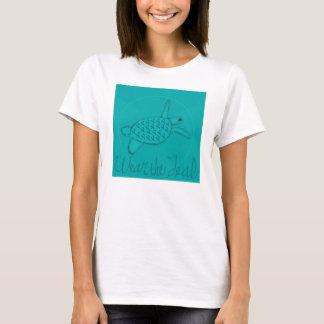 T-shirt Portez la conscience turquoise de Cancer ovarien