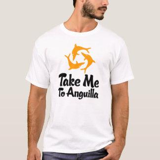 T-shirt Portez-moi à Anguilla