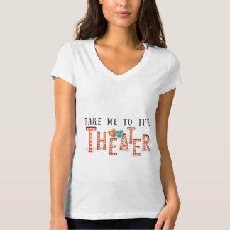T-shirt Portez-moi au théâtre