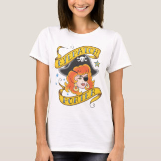T-shirt Portier de cache - les dames ont adapté la chemise