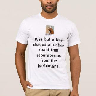 T-shirt Portland antique T : Rôti de café