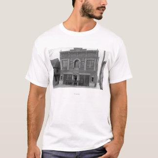 T-shirt Portland, OU photographie de vue de la caserne de