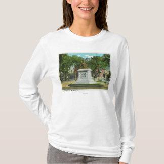 T-shirt Portland, vue de MaineOverhead de Portland